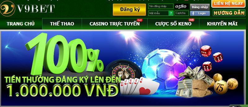 Attractive promotion at V9BET